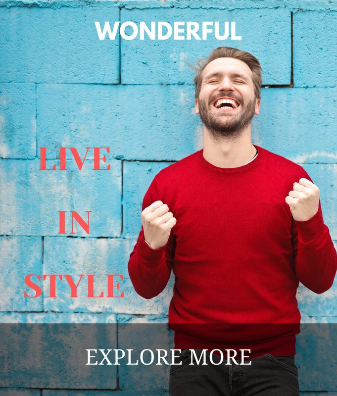 Wonderful Live in Style side banner  Home Page