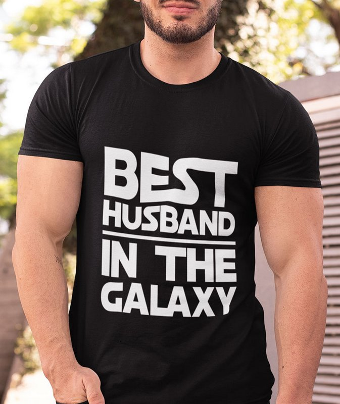 Best Husband in the Galaxy Black Wonderful T Shirt Sri Lanka Home Page