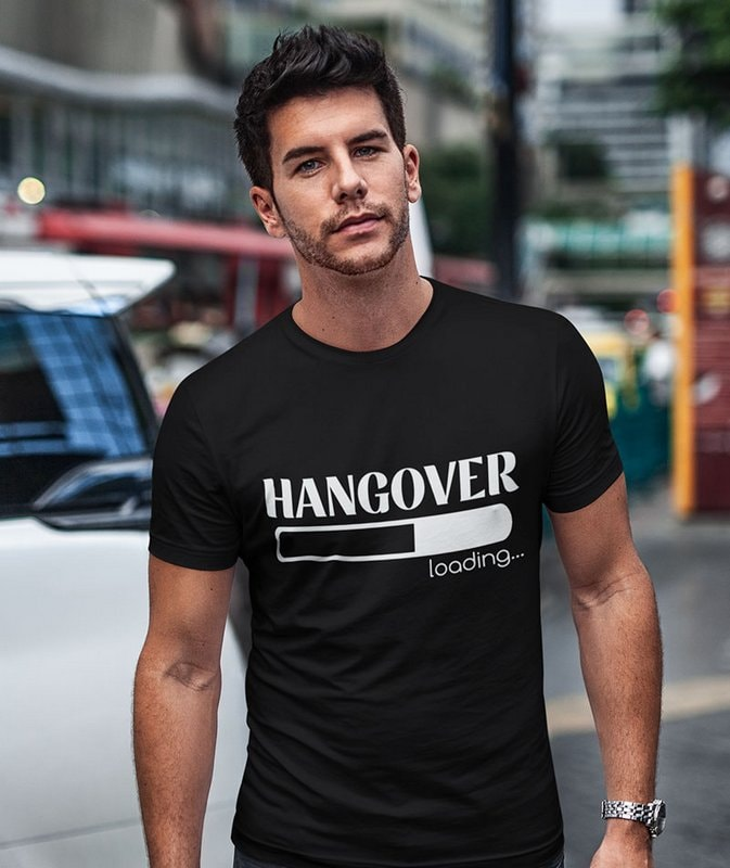 Hangover loading Black Printed T Shirt Wonderful Sri Lanka min Home Page