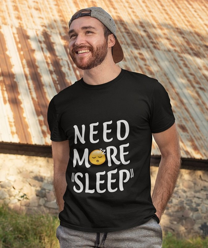 NEED MORE SLEEP Black Wonderful T Shirt Sri Lanka min Home Page