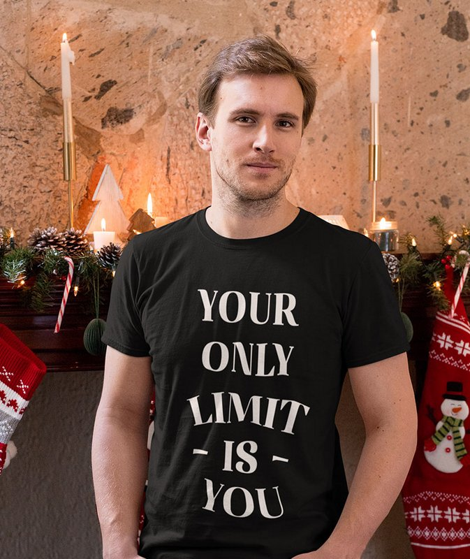 Your Only Limit is You Black Printed T Shirt Wonderful Sri Lanka Home Page