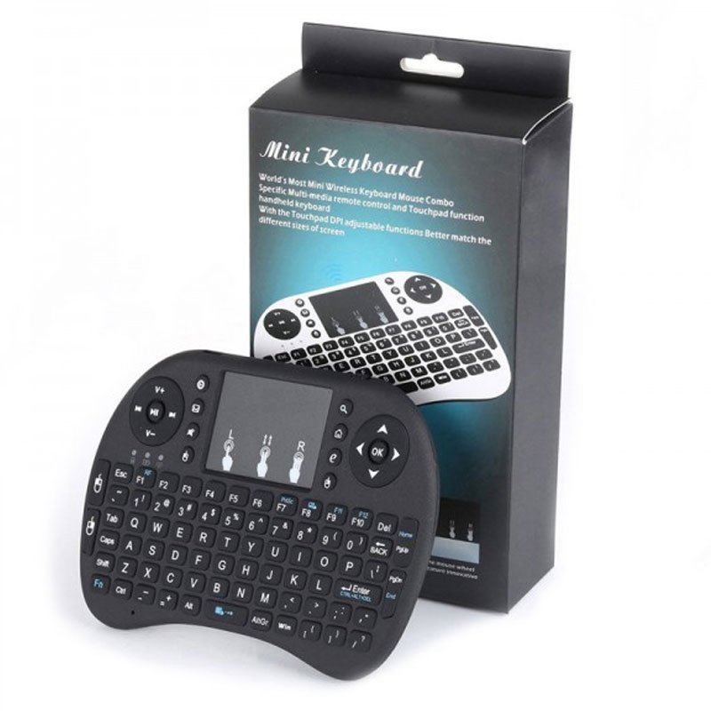 Android Mini 2.4Ghz KeyBoard Wireless 1 min Home Page
