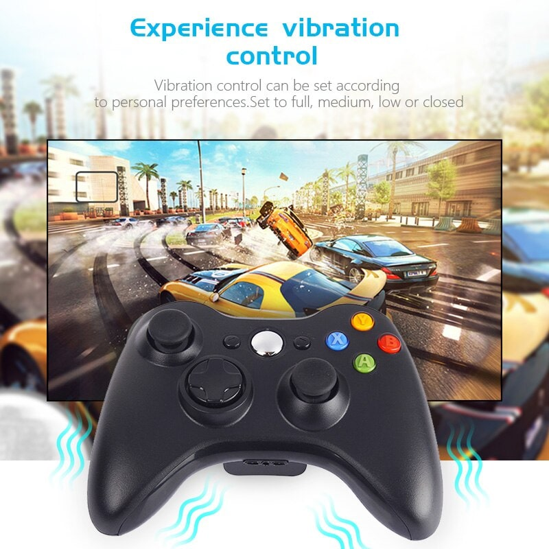 Gamepad For XBOX360 Game Controller Joypad 05 min Home Page