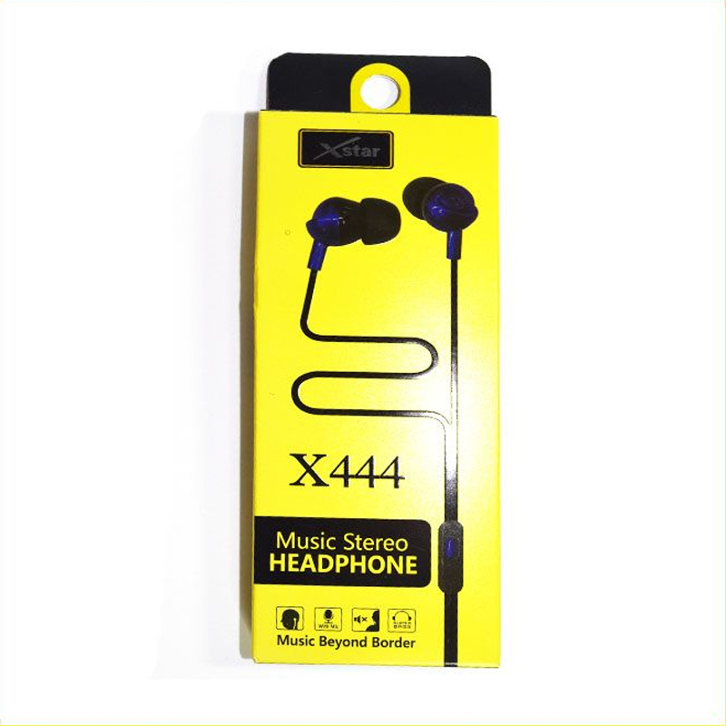 XSTAR EARPHONE X444 02 Home Page