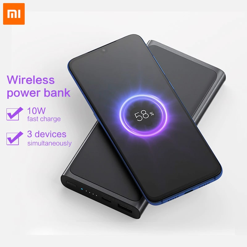 Xiaomi Mi Power Bank 10000mah Wireless 01 min Home Page