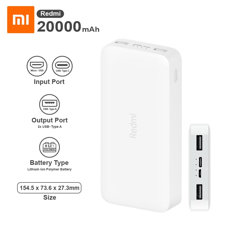Xiaomi Redmi Power Bank 01 min Home Page